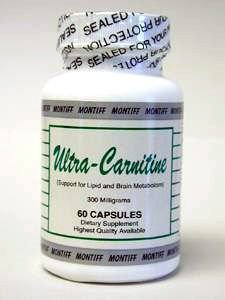 Montiff - Ultra-Carnitine 300 mg 60 caps by Montiff