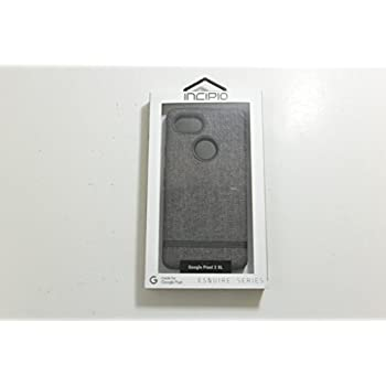 official photos 6dceb 2a2ce Incipio Carnaby Google Pixel 2 XL Case [Esquire Series] with Co-Molded  Design and Ultra-Soft Cotton Finish for Google Pixel 2 XL - Gray