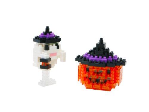 Nanoblock Jack o Lantern Building Set (170 Piece) (Jack Titanic Costume)