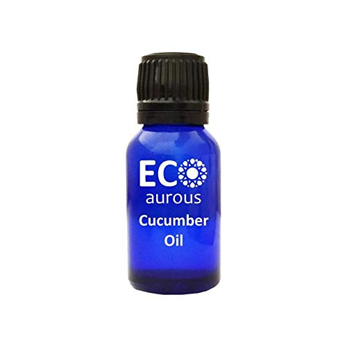 (Eco Aurous Cucumber Oil 100% Pure and Natural Essential Oil, Natural moisturizer for skin, Hair and Nails, (30 ML (1.01 OZ)))