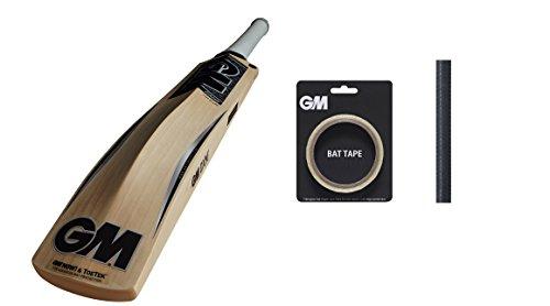 GM CHROME 606 English Willow Cricket Bat (Free Extra GM bat Grip , GM Bat Tape) 2017 Edition by Gunn & Moore