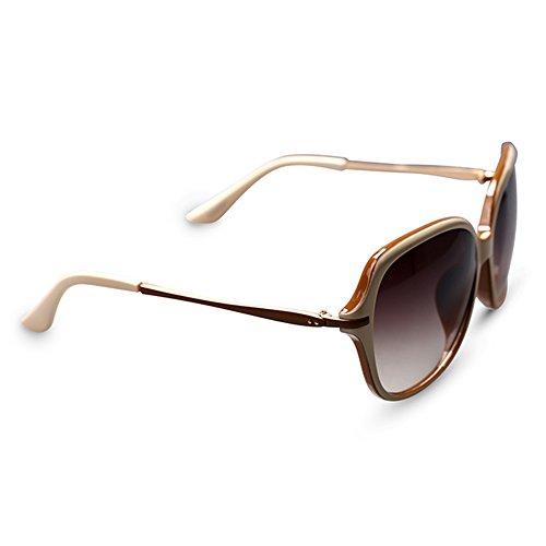 1d219bd951 SSSX Gafas de sol para mujer \ Gafas de sol polarizadas \ Gafas de sol para  conducir \ Gafas de sol con montura grande \ Gafas de sol 100% UV400 (Color  : D) ...
