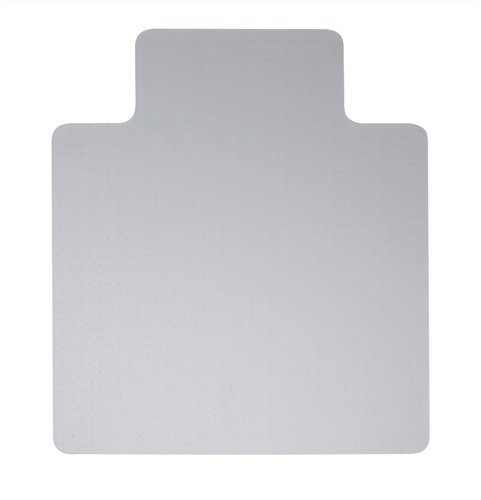 5 Star Chair Mat Floor Protection PVC W900xD1200mm Clear/Transparent Spicers Ltd 670940