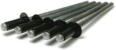 Brown Pop Rivets 1//8 Diameter All Aluminum Painted Blind Rivets 4-2 1//8 x 1//8 Grip QTY 250