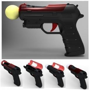 Pistol Gun for Sony PS3 Move Controller