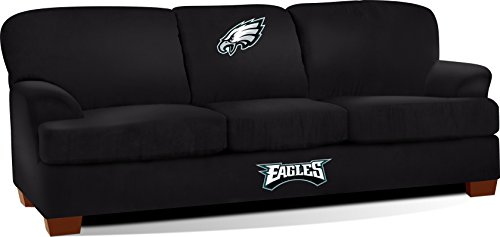 Imperial Officially Licensed NFL Furniture: First Team Microfiber Sofa/Couch, Philadelphia Eagles by Imperial