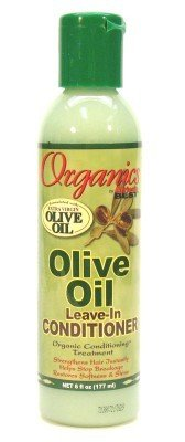 Africa's Best Organics Olive Oil Extra Virgin Conditioner Leave-In 6 oz. (3-Pack) with Free Nail File (Africas Best Organics Olive Oil Leave In Conditioner)