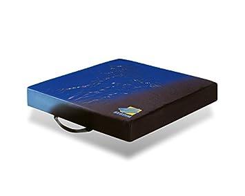 Cojín moldeado de Gel viscoelástica y espuma alta elasticidad 40 x 40 x 6 cm: Amazon.es: Salud y cuidado personal