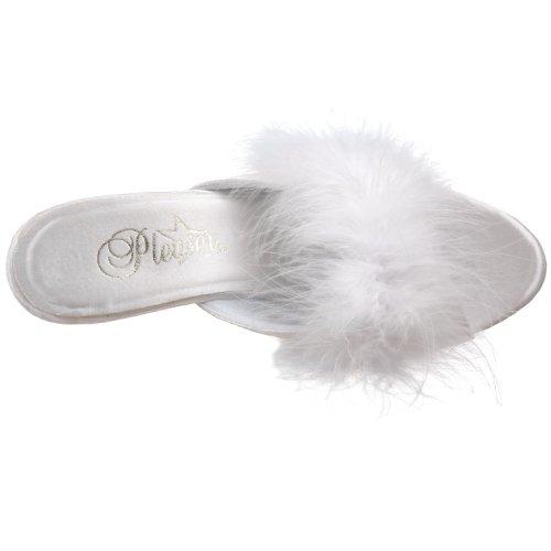 Pleaser BELLE-301F 8159 - Sandalias de vestir para mujer Blanco