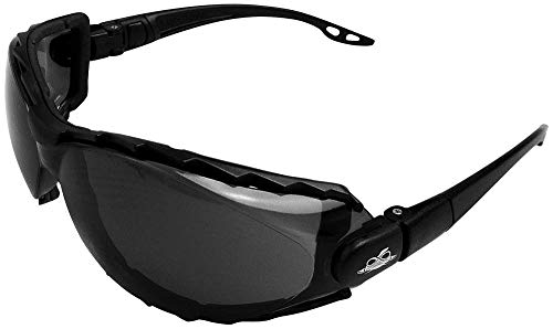 Bullhead Safety Eyewear BH2033AF CG4 Convertible Goggle to Eyewear Featuring Removable Foam & Temples, 2