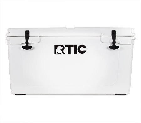 RTIC 65 Cooler (White)