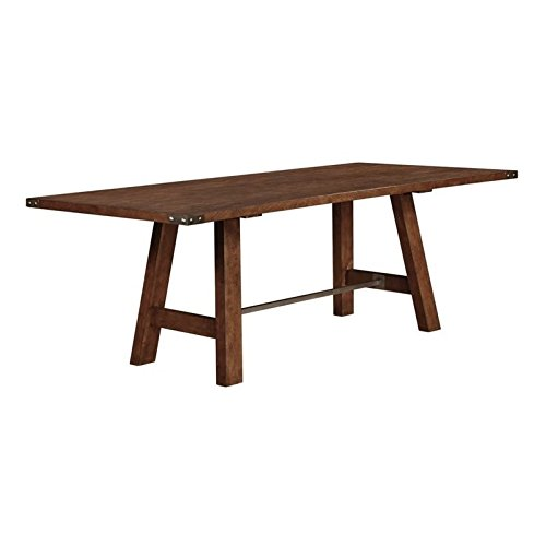 Coaster 105681 Home Furnishings Dining Table, Weathered