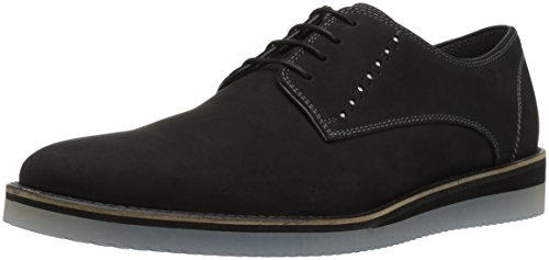 Steve Madden Men's Inquest Oxford, black nubuck, 10.5 M US