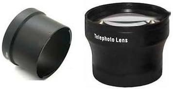 Tube Adapter Bundle for Nikon Coolpix P6000 Nikon Digital TelePhoto Lens