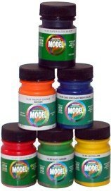 Modelflex Paint Railroad Rolling Stock Colors Set Badger