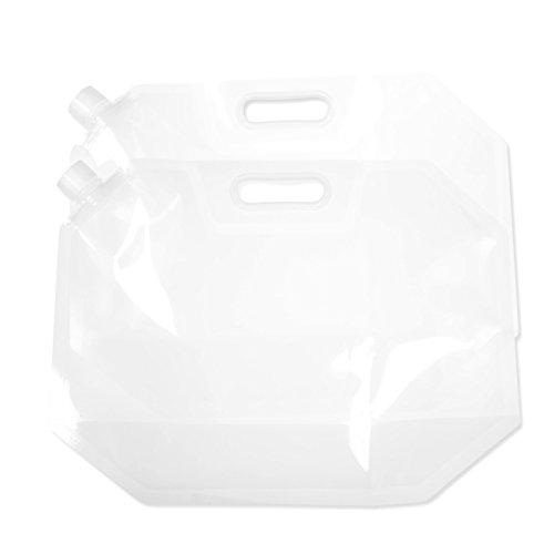 flat water container - 2