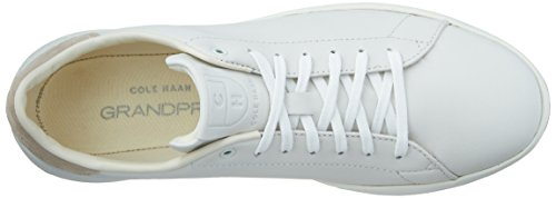 Cole Haan Hombres Grandpro Tennis Fashion Sneaker Blanco