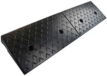 6-12CMトラックスロープ、駐車場入り口のスロープサービス工場戸口縁石スロープサンプロテクションノンスリップ車スロープ 段差プレート・スロープ (Size : 100*25*7CM)