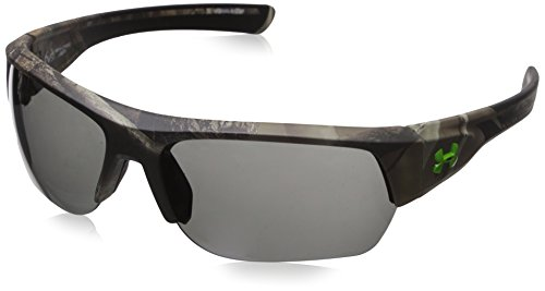 Under Armour Men's Big Shot ANSI 8630085-878700 Rectangular Sunglasses, Satin Real Tree/Black, 37 - Wholesale Sunglasses Designer Distributors