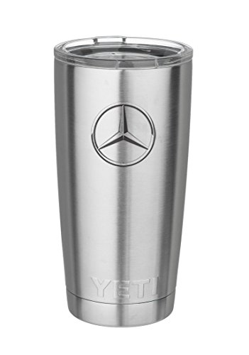 Mercedes Benz Double-Wall Vacuum Hot or Cold Insulated YETI Tumbler Cup Mug by Mercedes-Benz