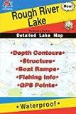 Rough River Lake Fishing Map, Kentucky (Kentucky Fishing Series, L115)