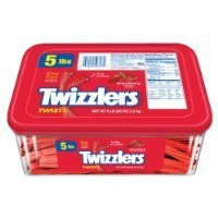Twizzlers Twists, Strawberry, 5-Pound Package Thank you for using our service