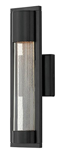 Hinkley 1220SK Contemporary Modern One Light Outdoor Wall Mount from Mist collection in (Hinkley Contemporary Lighting)