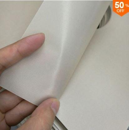 Honana 4PCS Kitchen Reusable Aluminum Foil Gas Stove Burner Cover Protector Liner Clean Mat Pad (Creamy White)