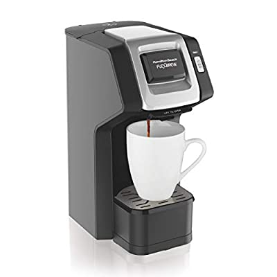 Hamilton Beach FlexBrew Single-Serve Coffee Maker for K-Cups and Ground Coffee from Hamilton Beach