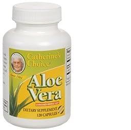 Catherine\'s Choice Whole Leaf Aloe Vera by Aloes International, Inc. - 120 capsules