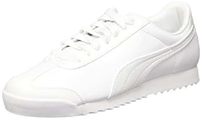 Puma Erkek Roma Basic Moda Ayakkabı, Beyaz, 40