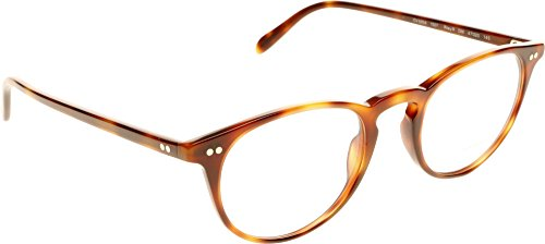 Oliver Peoples - RILEY-R OV 5004,Rondes acétate homme Dark Mahogany