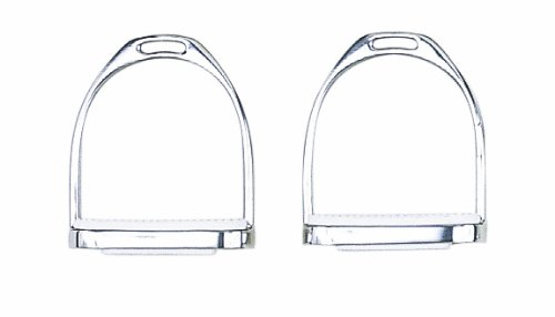 Perri's Never Rust Economy Stirrups, Nickel Plated, 4 1/2-Inch
