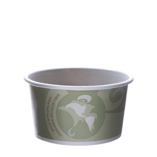 Eco-Products - Evolution World 24% Recycled Content Food Containers - 12oz. Container - EP-BRSC12-EW (Case 500)