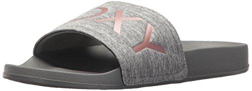 Roxy レディース Slippy Textile Slide Sandal