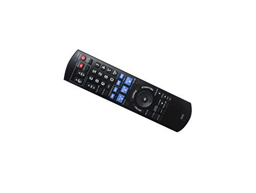Hotsmtbang Replacement Remote Control for Panasonic DMR-ES46 DMR-ES46V DMR-EH65 EMR-EH75V EMR-EH75VS DMR-ES15 DVD DVR VCR Recorder Player
