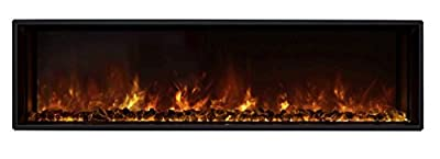 Modern Flames Landscape Fullview 2 Series Electric Fireplace (LFV2-60-15-SH), 60-Inch