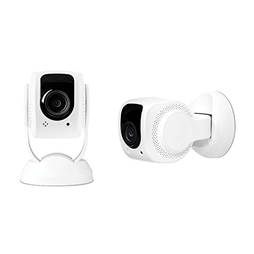 Tend Secure Lynx 1080p Wi-Fi Indoor Security Camera 2-Pack, Facial Recognition by Tend Insights