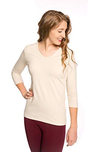 Heirloom Clothing 3/4 Sleeve Cream XLarge