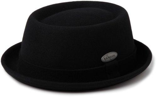 Kangol  Lite Felt Pork Pie Hat Hat, -black, (Pie Man)