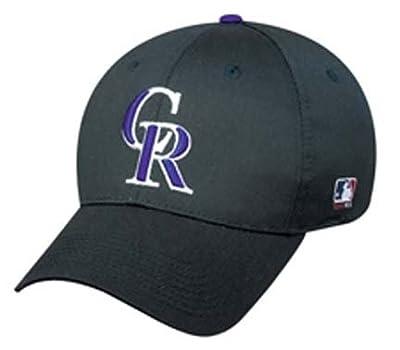 Colorado Rockies MLB Replica Team Logo Adjustable Baseball Cap from Outdoor Cap