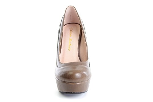 Andres Machado.AM589.Zapatos con Plataforma.Para Mujer.Tallas Pequeñas/Grandes 32/35; 42/45 Siena