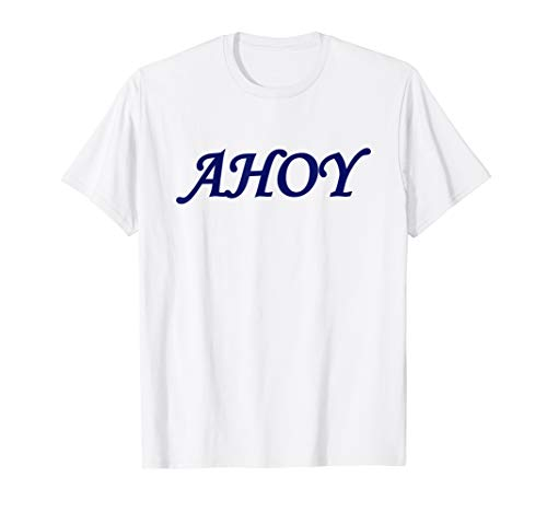 Ahoy Graphics Stranger Shirt For Men & Women