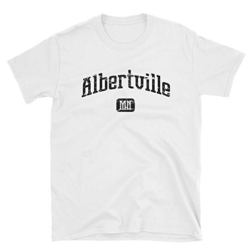 Albertville Minnesota MN Vintage Style Faded Tee from Hometown Tees ()