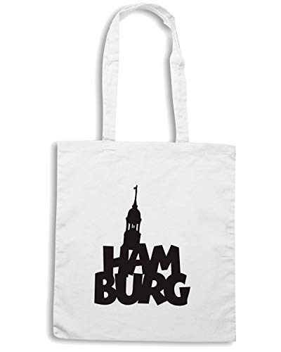 HAMBURG Shopper Borsa WC0389 Bianca Speed Shirt xqXwUCC6