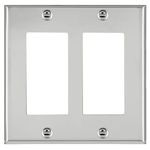 chrome wall outlet cover - 7