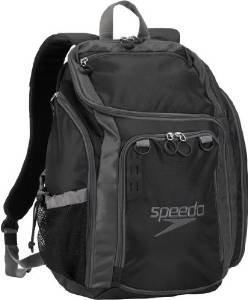 UPC 786096537520, Speedo The One Backpack, Black/Darkgull Grey, 25-Liter
