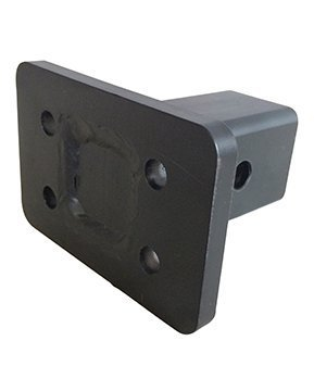 GEN-Y Hitch Pintle Hook 4-Bolt Mounting Plate 2'' Shank ; GH-038