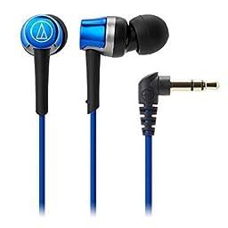 Amazon Co Jp Audio Technica Soundreality スマートフォン用カナル型イヤホン リモコン マイク付 ブルー Ath Ckr30is Bl 家電 カメラ