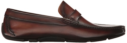 on Slip Brown Men's Magnanni Mid Loafer Dallas xq48F0
